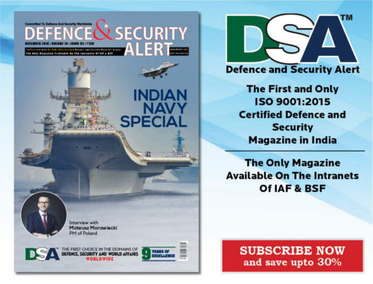 Defence and Security Alert (DSA) Magazine Subscription