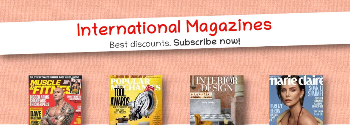 International Magazine Subscription