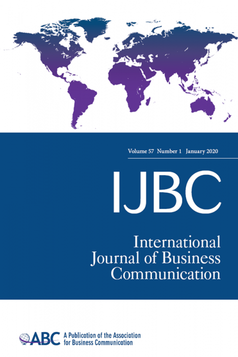 ABC Journal Package: International Journal of Business Communication & Business and Professional Communication Quarterly Journal Subscription