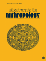 Abstracts in Anthropology Journal Subscription
