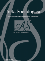 Acta Sociologica Journal Subscription