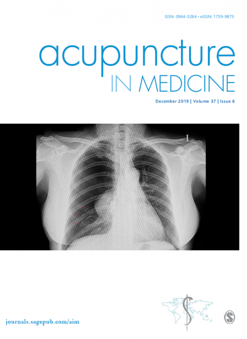 Acupuncture in Medicine Journal Subscription