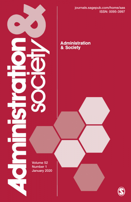 Administration & Society Journal Subscription