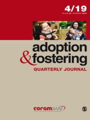 Adoption & Fostering Journal Subscription