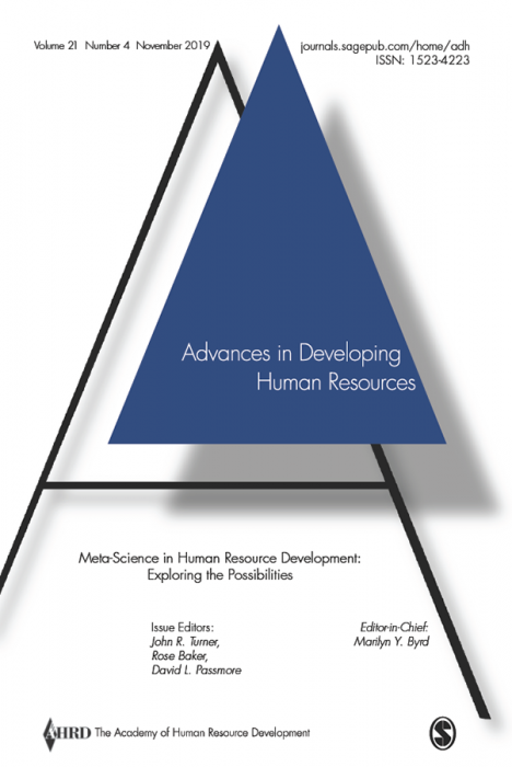 Advances in Developing Human Resources Journal Subscription