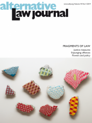 Alternative Law Journal Journal Subscription
