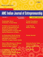 AMC Indian Journal of Entrepreneurship Journal Subscription