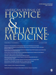 American Journal of Hospice and Palliative Medicine Journal Subscription