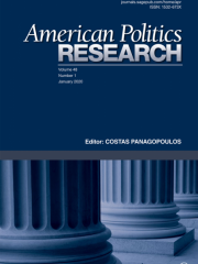 American Politics Research Journal Subscription