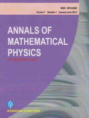 Annals of Mathematical Physics : An International Journal Journal Subscription