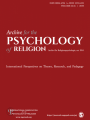 Archive for the Psychology of Religion/Archiv für Religionspsychologie Journal Subscription