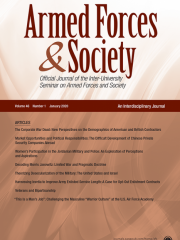 Armed Forces & Society Journal Subscription