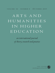 Arts and Humanities in Higher Education Journal Subscription