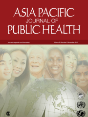 Asia Pacific Journal of Public Health Journal Subscription