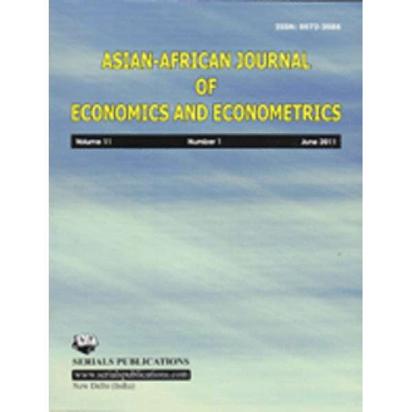 Asian-African Journal of Economics and Econometrics Journal Subscription
