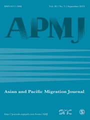 Asian and Pacific Migration Journal Journal Subscription