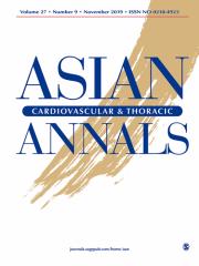 Asian Cardiovascular & Thoracic Annals Journal Subscription
