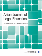 Asian Journal of Legal Education Journal Subscription
