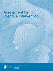 Assessment for Effective Intervention Journal Subscription