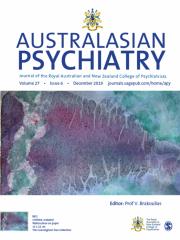 Australasian Psychiatry Journal Subscription