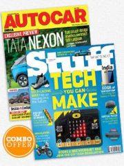 AUTOCAR INDIA + STUFF COMBO Magazine Subscription