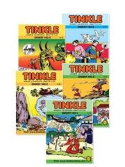 Best of Tinkle Assorted Double Digest (pack of 5) Magazine Subscription