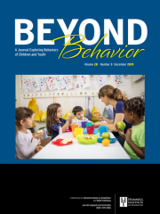 Beyond Behavior Journal Subscription
