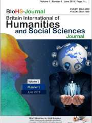 Britain International of Humanities and Social Sciences Journal (Indonesia) Journal Subscription