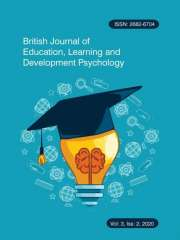 British Journal of Education, Learning and Development Psychology Journal Subscription