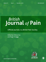 British Journal of Pain Journal Subscription