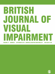 British Journal of Visual Impairment Journal Subscription
