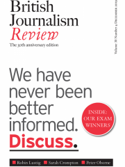 British Journalism Review Journal Subscription