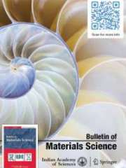 Bulletin of Materials Science Journal Subscription