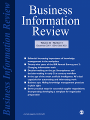 Business Information Review Journal Subscription