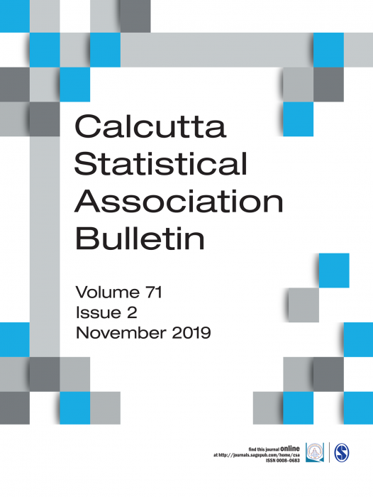 Calcutta Statistical Association Bulletin Journal Subscription
