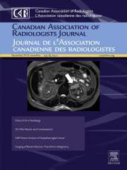 Canadian Association of Radiologists Journal Journal Subscription