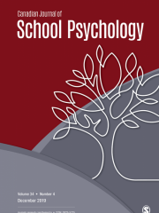 Canadian Journal of School Psychology Journal Subscription