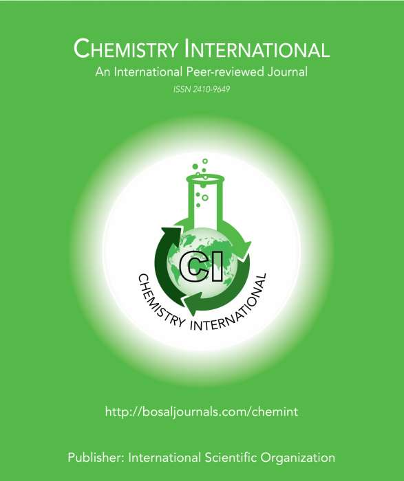 Chemistry International Journal Subscription