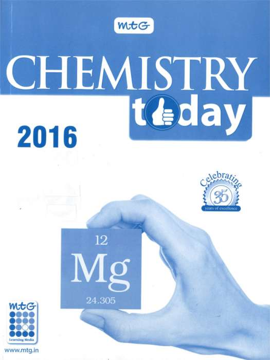 Chemistry Today Bound Volume -2016 (Jan -Jun) Magazine Subscription