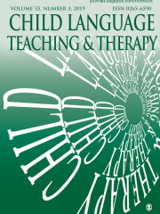 Child Language Teaching and Therapy Journal Subscription