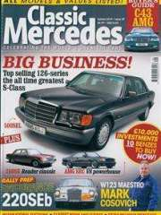 Classic Mercedes - UK Edition International Magazine Subscription