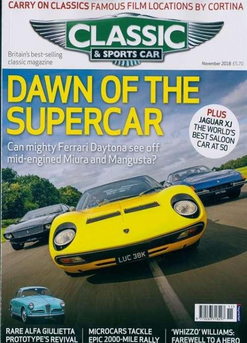 Classic & Sportscar - UK Edition International Magazine Subscription