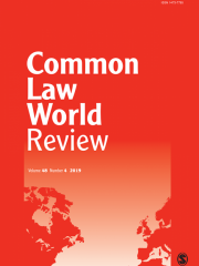 Common Law World Review Journal Subscription