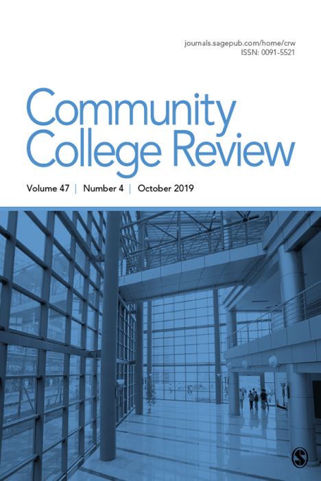 Community College Review Journal Subscription