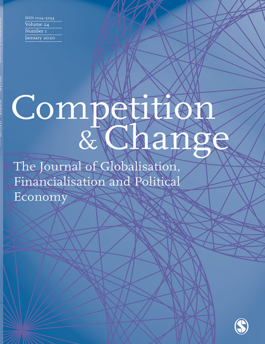 Competition & Change Journal Subscription