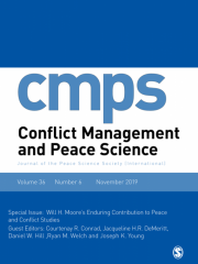 Conflict Management and Peace Science Journal Subscription
