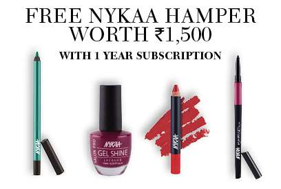 Nyka Nail Paint Hamper - Free gift with Cosmopolitan 1 Year Subscription