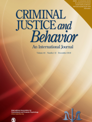 Criminal Justice and Behavior Journal Subscription