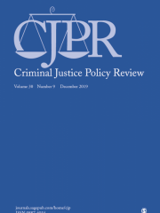 Criminal Justice Policy Review Journal Subscription