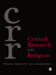 Critical Research on Religion Journal Subscription